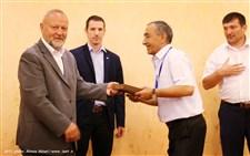مراسم اختتامیه مسابقات کشتی کمربند قهرمانی آسیا گزارش تصویری13