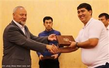 مراسم اختتامیه مسابقات کشتی کمربند قهرمانی آسیا گزارش تصویری14