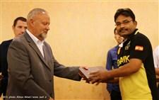مراسم اختتامیه مسابقات کشتی کمربند قهرمانی آسیا گزارش تصویری15