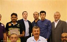 مراسم اختتامیه مسابقات کشتی کمربند قهرمانی آسیا گزارش تصویری17