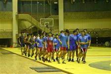 تمرین تیم ملی کشتی آزاد نوجوانان پیش از حضور در رقابت های جهانی گزارش تصویری1