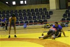 تمرین تیم ملی کشتی آزاد نوجوانان پیش از حضور در رقابت های جهانی گزارش تصویری3
