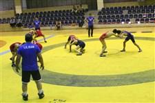 تمرین تیم ملی کشتی آزاد نوجوانان پیش از حضور در رقابت های جهانی گزارش تصویری11
