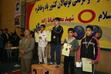 هفتمین دوره جشنواره کشتی آزاد و فرنگی نونهالان گزارش تصويري -21