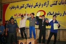 هفتمین دوره جشنواره کشتی آزاد و فرنگی نونهالان گزارش تصويري -210