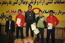 هفتمین دوره جشنواره کشتی آزاد و فرنگی نونهالان گزارش تصويري -213