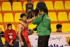رقابتهاي بينالمللي كشتي فرنگي جام يادگار امام ره گزارش تصويري-46