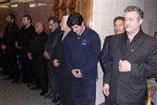 مراسم ترحیم علیرضا سلیمانی قهرمان کشتی آزاد جهان گزارش تصویری4