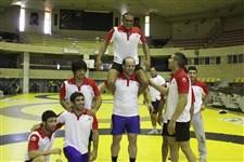 تيم ملي كشتي آزاد پيش از حضور در رقابتهاي جهاني تركيه گزارش تصويري10