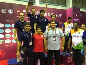 رقابت های کشتی فرنگی جوانان قهرمانی آسیا- تایلند 1