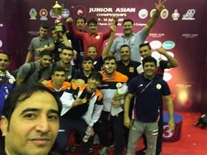 رقابت های کشتی فرنگی جوانان قهرمانی آسیا- تایلند 3