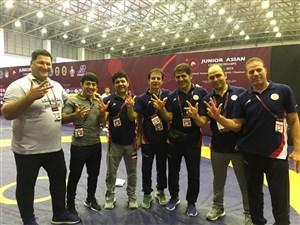 رقابت های کشتی فرنگی جوانان قهرمانی آسیا- تایلند 5