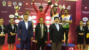 رقابت های کشتی فرنگی جوانان قهرمانی آسیا- تایلند 6
