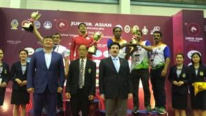 رقابت های کشتی فرنگی جوانان قهرمانی آسیا- تایلند 7